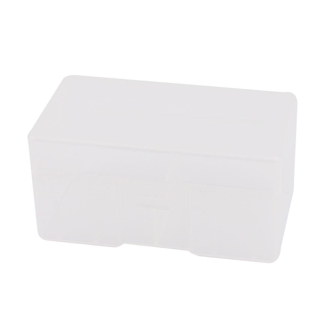 Unique Bargains Clear Plastic Rectangle Storage Box Case Container Holder  For 12 X 9V Battery