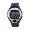 HDE Fitness Sports Pulse Watch with Heart Rate Monitor and Calorie Counter Weightloss Help (Silver)
