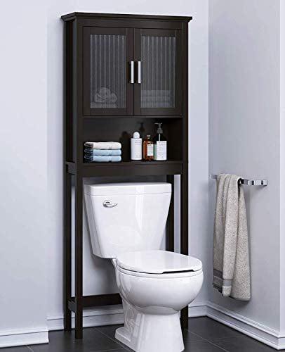 Spirich Bathroom Shelf Over The Toilet, Bathroom Cabinet ...