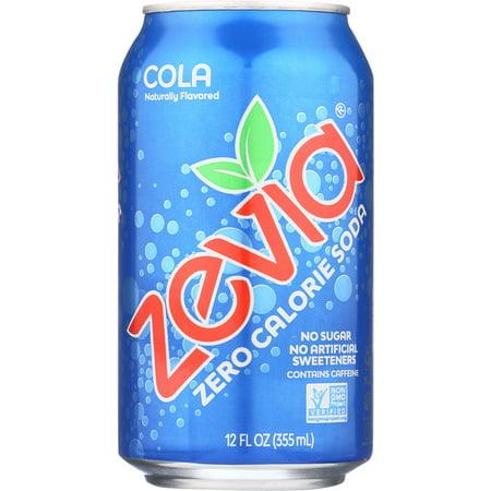 Zevia Zero Calorie Cola, 6 Count (Pepsi E Coca Cola Halloween)