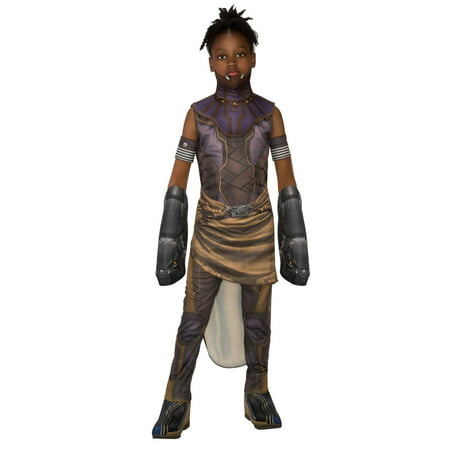 Marvel Black Panther Movie Deluxe Shuri Girls Costume (Best Movie Character Costumes)