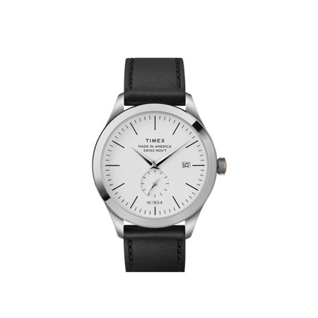 UPC 753048833283 product image for Timex American Documents 41mm Leather Strap Watch | upcitemdb.com