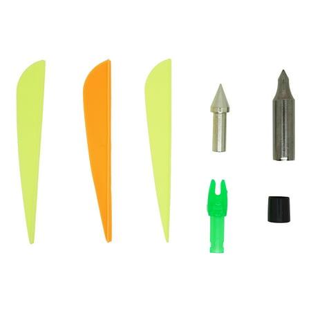 Safari Choice HT-BJ-8001 Replacement Fletching, Tips, Nocks