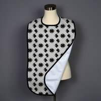 Black Box Cross Adult Bib - Covered with Care