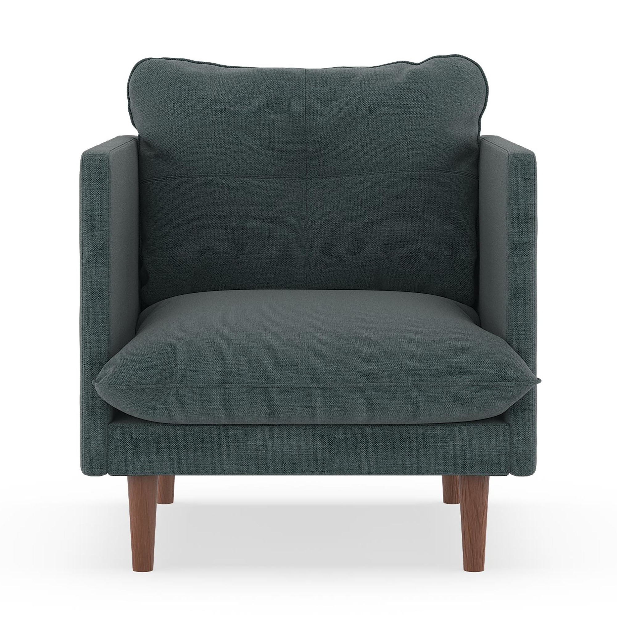 Easton Armchair Oxford Weave - Aegean Blue