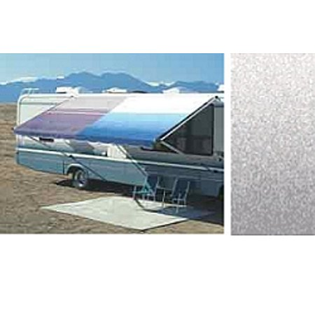 Carefree Rv Awning Replacement Fabric 14ft Silver Fade