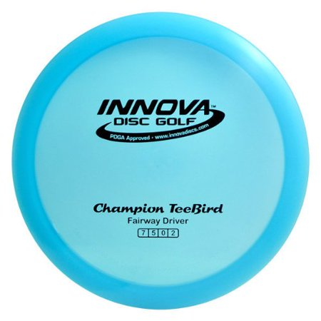 Innova - Champion Discs TeeBird Golf Disc, 170-172gm (Colors may vary), Best choice for: Accurate fairway drives, Utility driver and Flex shots By Innova Champion (Best Clone Golf Drivers)