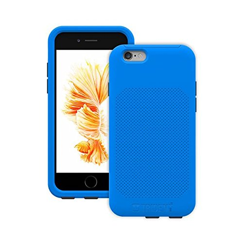 """Trident Aegis Pro Case For Apple Iphone 6/6s - Iphone 6, Iphone 6s - Blue - Textured Inner Padding - Polycarbonate, Thermoplastic Elastomer [tpe] - 48"""" Drop Height (agp-apip6sbl000)"""