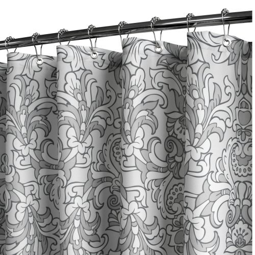 Watershed Rococo Scroll Shower Curtain