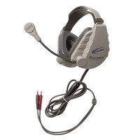Califone DS-4V Discovery Stereo Binaural Headset, 3.5mm with Dynamic Mic