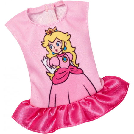 Barbie Super Mario Fashion Pack - Pink Princess Peach Top