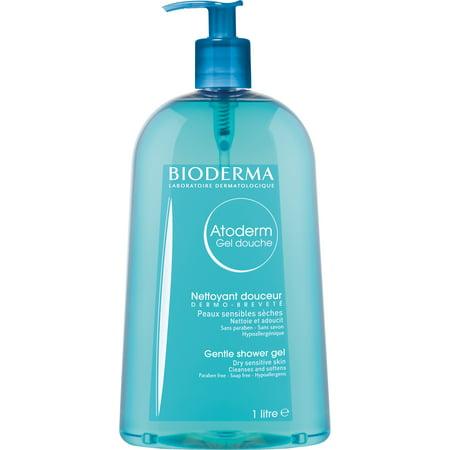 Bioderma Atoderm Moisturizing Shower Gel Body Wash For Normal To Sensitive Skin - 33.4 fl.oz.