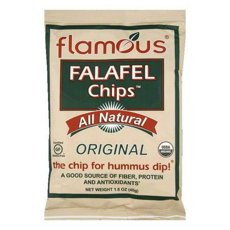 (Flamous Original Falafel Chips, 1.6 Oz (Pack of 24))
