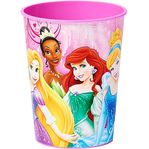 Disney Princess 16 oz. Plastic Party Cup, Party Supplies