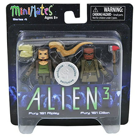 Minimates Aliens Toys R Us Wave 4 - Fury 161 Ripley & Fury 161 Dillon 2-Pack - Toy Alien