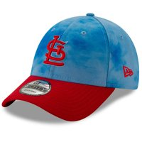 promo code 9872c 05d46 Product Image St. Louis Cardinals New Era 2019 Father s Day 9FORTY  Adjustable Hat - Blue Red
