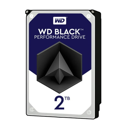 WD Black 2TB Performance Desktop Hard Disk Drive - 7200 RPM SATA 6 Gb/s 64MB Cache 3.5 Inch - WD2003FZEX