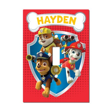 Light Switch Covers Kids - PAW Patrol Kids Light Switch Cover