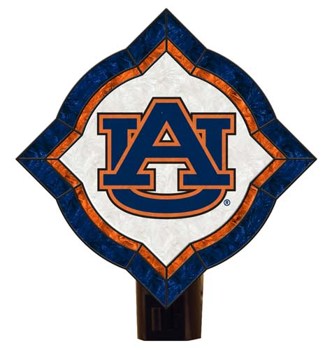 Auburn Vintage Art Glass Nightlight