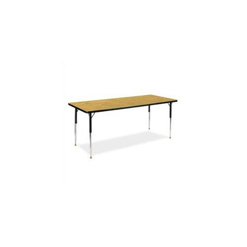 Virco 4000 Series 72'' x 24'' Rectangular Activity Table