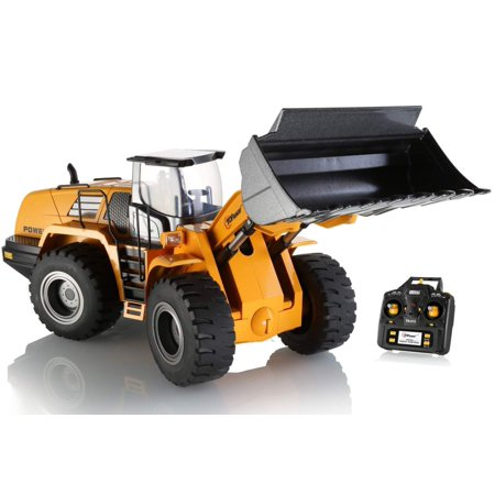 Top Race Remote Control Front Loader Heavy Duty with Metal (Duty Control)