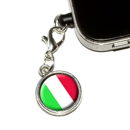 - Italy Italian Flag Mobile Phone Charm