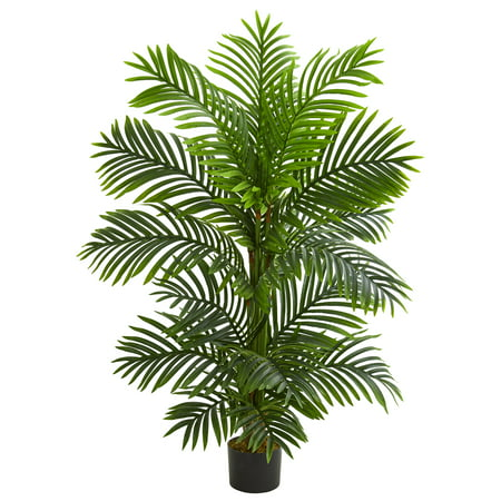 Nearly Natural 4' Bamboo Palm Artificial Tree