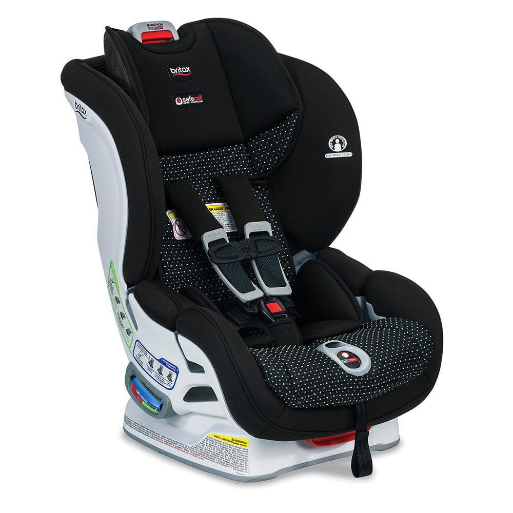 Britax Marathon ClickTight Convertible Car Seat, Black