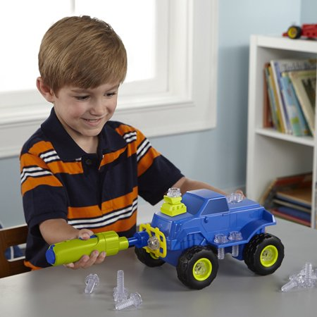 Educational Insights Design & Drill Power Play Vehicles Monster Truck - image 3 de 5
