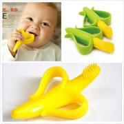 Original HQ Safe Baby Teether Teething Infant Chew Toys Silicone Toothbrush Gift