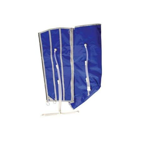 Chattanooga 43128 Inflatable Garment Expander - Half Leg - 3 Chambers - Garment Half Leg