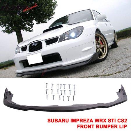 2007 Subaru Impreza Wrx >> Fits 06 07 Subaru Impreza Wrx Sti Cs2 Front Bumper Lip Splitter Pp