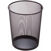 Honey Can Do 4 75 Gallon Round Mesh Metal Trash Basket Multicolor