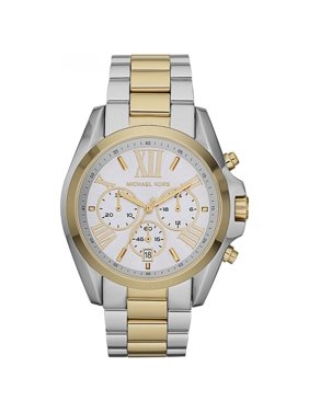 baedeecc831c Product Image Michael Kors MK5627 Women s Bradshaw Chronograph Silver Dial  Two Tone Steel Watch