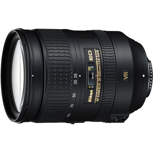 Nikon Nikkor IF 28-300mm f/3.5-5.6 SWM Telephoto Zoom Lens