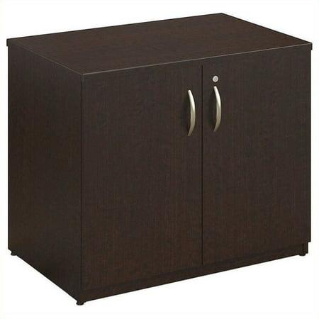 Bush Business Series C Elite 36W Storage Cabinet in Mocha Cherry