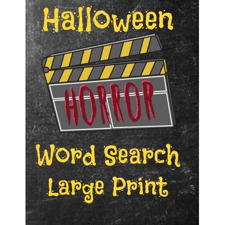 Play Halloween Word Search Online (Halloween Horror Word Search)