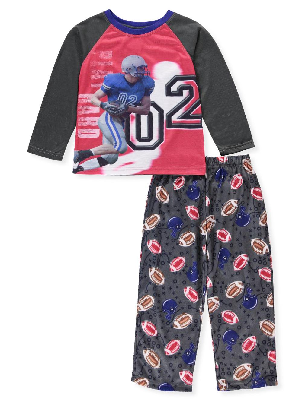 Boys Only Boys 2-Piece Pajama Set with Stickers