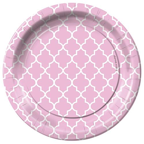 Trellis Dessert Plates Pack of 8