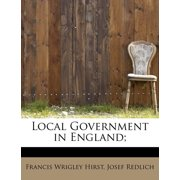 Local Government in England;