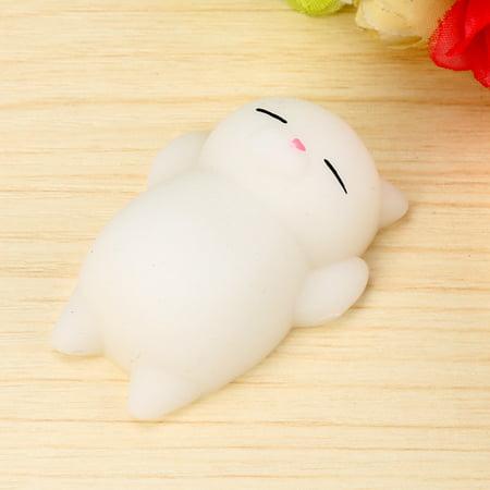 Mochi Squishy Cat Squeeze Healing Kids Kawaii Toy Stress Reliever Decor