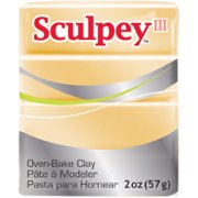 Sculpey III Polymer Clay 2oz-Jewelry Gold