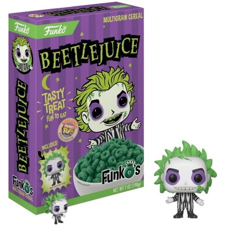 FunkO's Beetlejuice Breakfast Cereal - Beetlejuice Head Shrunken