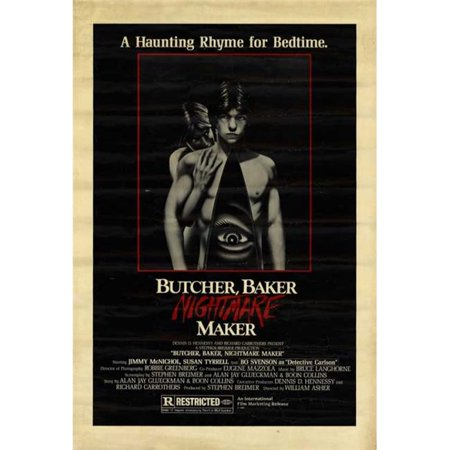 Posterazzi MOVCH9608 Butcher Baker Nightmare Maker Movie Poster - 27