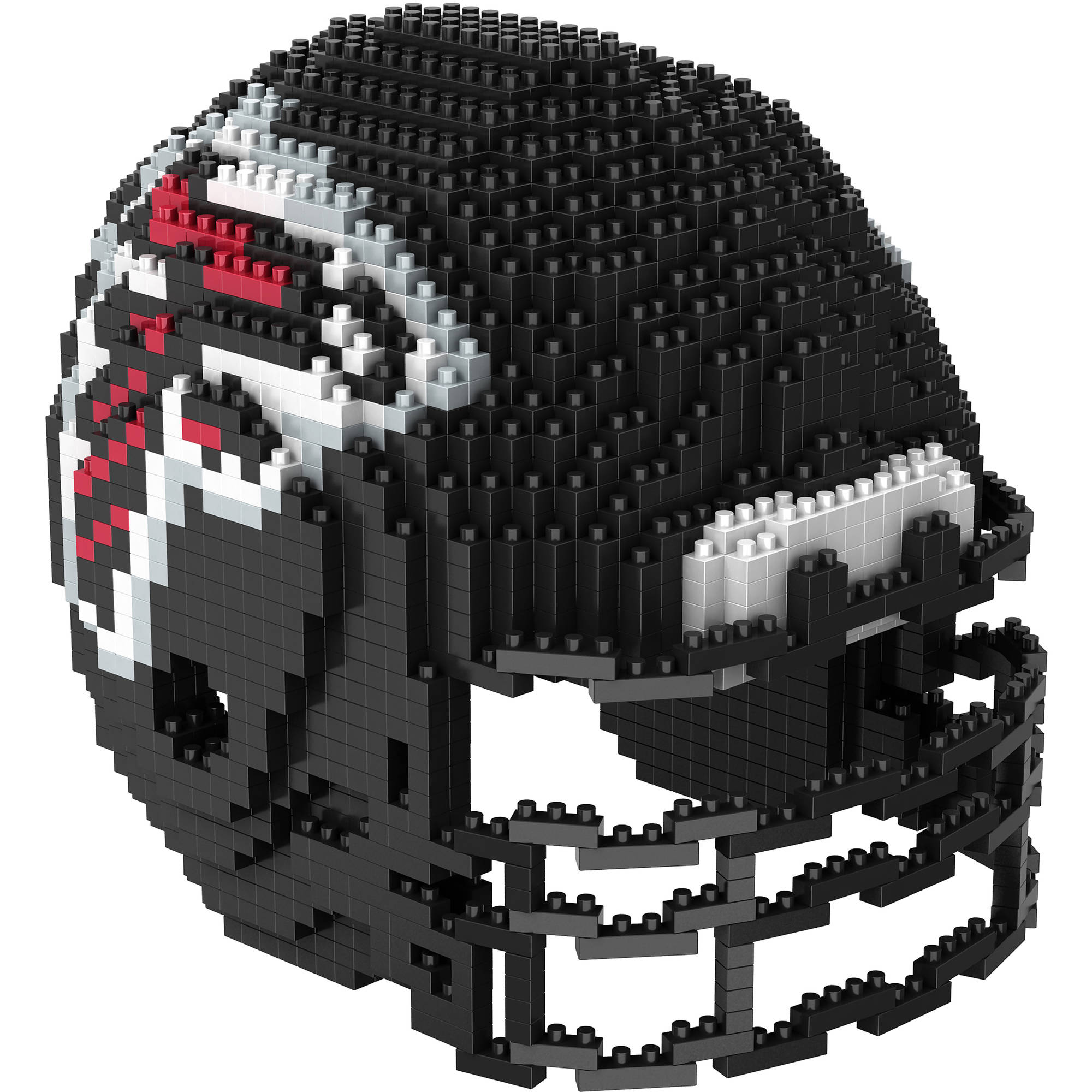 Forever Collectibles 3D BRXLZ Mini Helmet, Atlanta Falcons