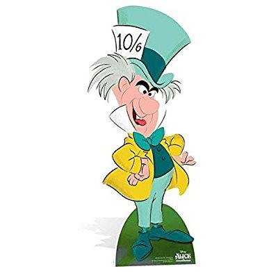 Star Cutouts SC855 Mad Hatter Classic Alice in Wonderland Cardboard Cut Out by Star Cutouts Ltd