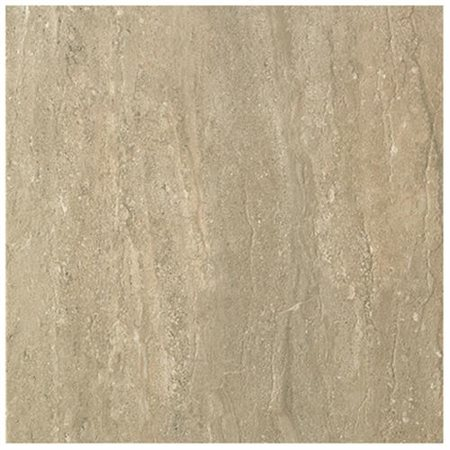 """Travertini 16.75"""" x 16.75"""" Floor and Wall Tile in Noce"""