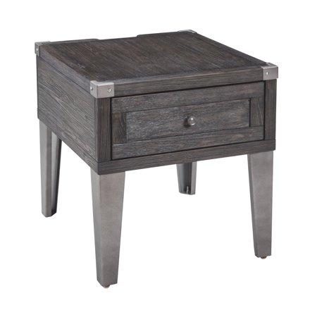 Signature Design by Ashley Todoe Rectangular End Table Country Rectangular End Table