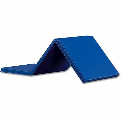 Expando Folding Exercise Mat, Blue