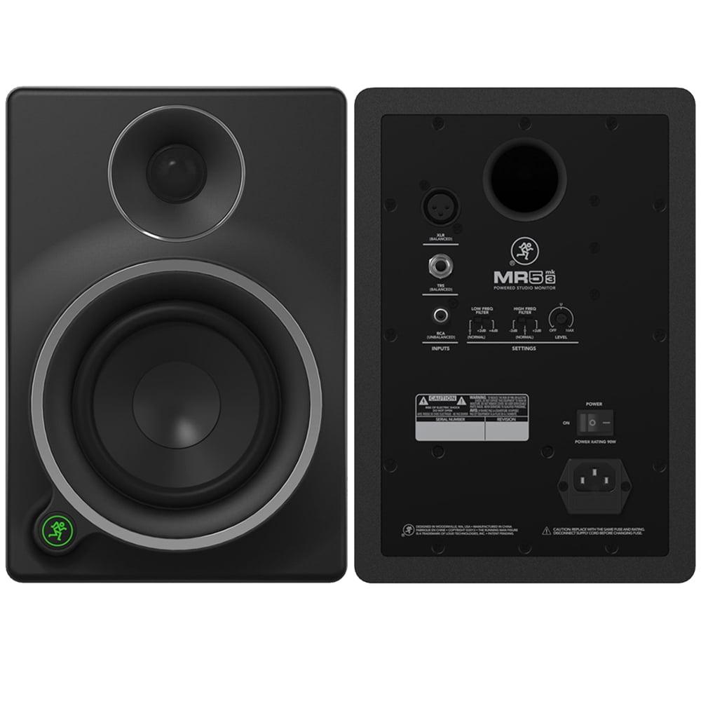 Mackie MR mk3 Series MR5mk3 5-Inch 2-Way Powered Studio Monitor by Mackie